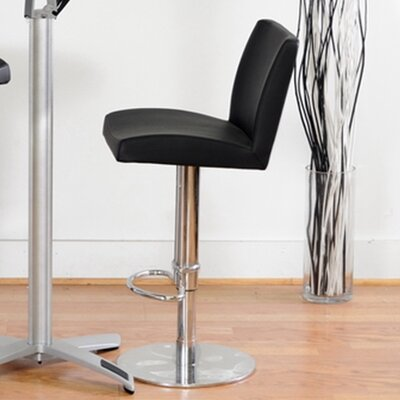 Baxton Studio Alford Adjustable Height Swivel Bar Stool