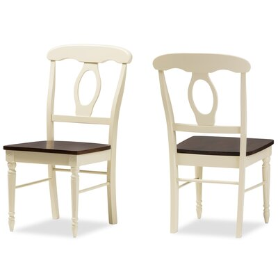 Delmi Solid Wood Dining Chair