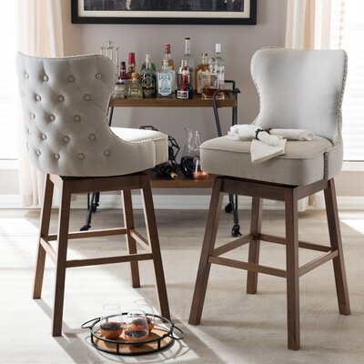 Baxton Studio 30.51 Swivel Bar Stool