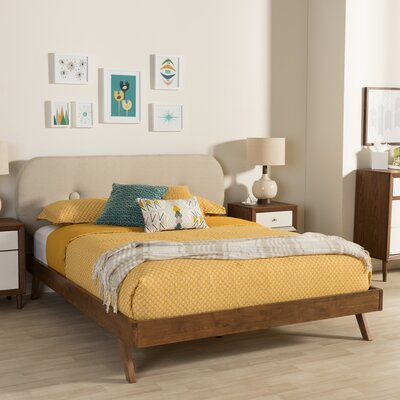 Elenora Upholstered Platform Bed Size: King
