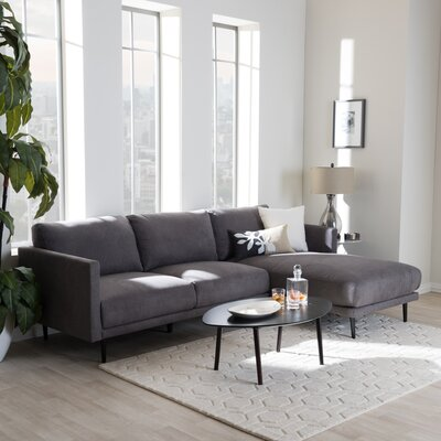Baxton Studio Modular Sectional