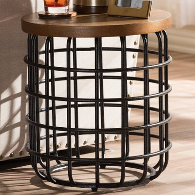 Baxton Studio Carie End Table