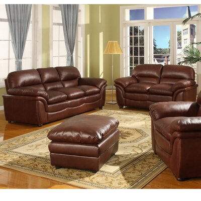 Wholesale Interiors 9015 2PC Sofa Set Baxton Studio Redding  Modern Sofa Set
