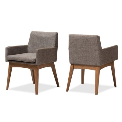 Baxton Studio Flavia Arm Chair