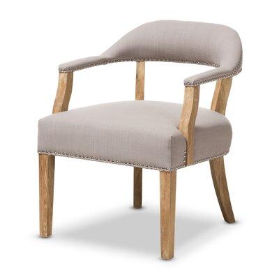 Baxton Studio Renato Upholstered Armchair