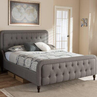 Dascomb Upholstered Platform Bed Size: Queen