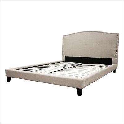 Modern Platform  King on Studio Aisling King Platform Bed In Cream   B 55b C 250 King Size