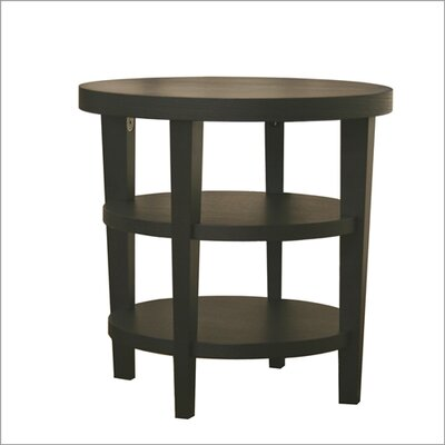Cheap Wholesale Interiors Baxton Studio Charleston End Table in Black (WHI1495)