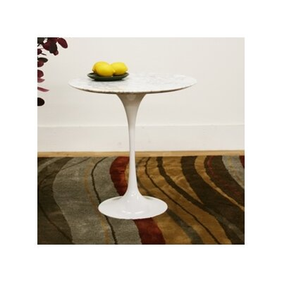 Baxton Studio Immer End Table in White