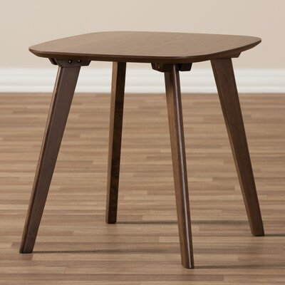 Mia Mid-Century Modern Wood End Table