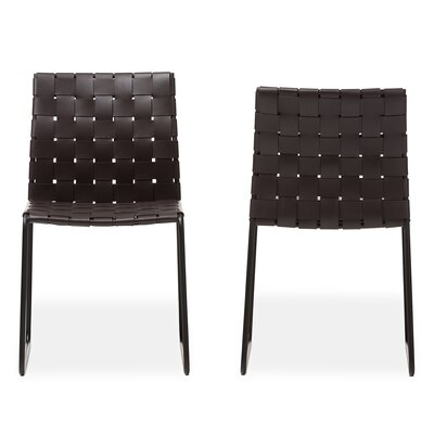 Baxton Studio Dina Modern and Contemporary Side Chair