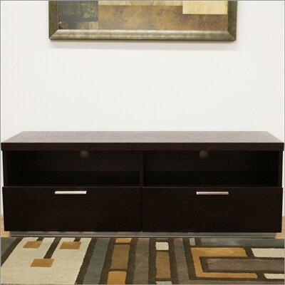 Cheap Wholesale Interiors Baxton Studio Pelham Modern 53″ TV Stand in Dark Brown (WHI1591)