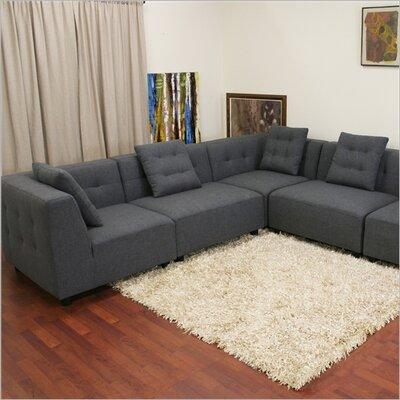 Wholesale Interiors B57-TD0902(A227-14A) sectional Baxton Studio Modular Sectional