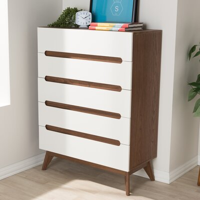 Brydon 5 Drawer Chest