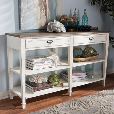 Bryan Wood Console Table