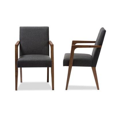 Brin Armchair Upholstery: Dark Gray