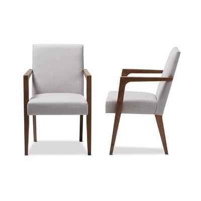 Brin Armchair Upholstery: Grayish Beige