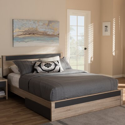 Kirree 2 Drawer Queen Storage Platform Bed