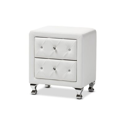 Stella Nightstand in White
