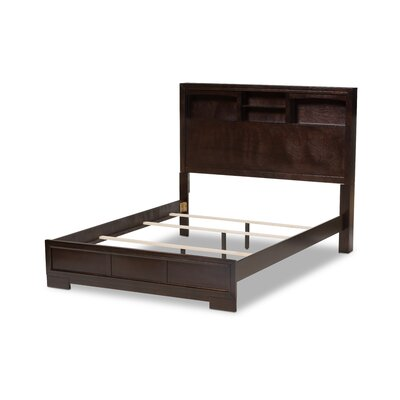 Plott Storage Platform Bed Size: King