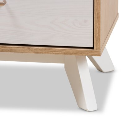 Vitiello 2 Drawer Nightstand
