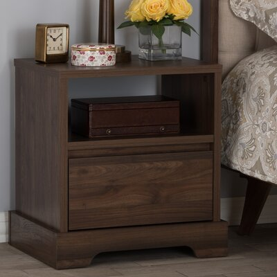 Crosby 1 Drawer Nightstand