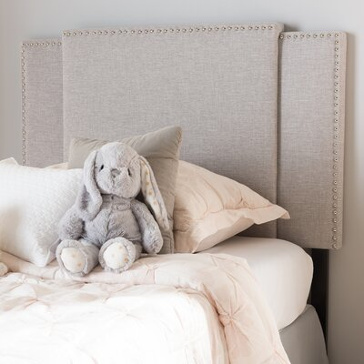 Bannerdown Upholstered Panel Headboard Upholstery: Greyish Beige