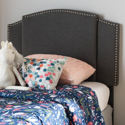 Bosch Upholstered Panel Headboard Upholstery: Dark Gray