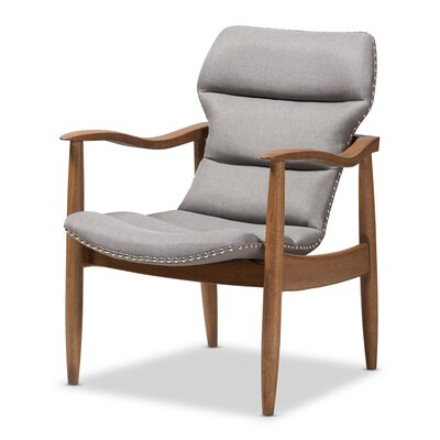 Waggoner Armchair Upholstery: Gray
