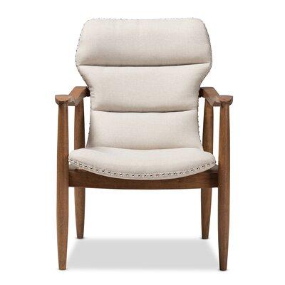 Waggoner Armchair Upholstery: Light Beige