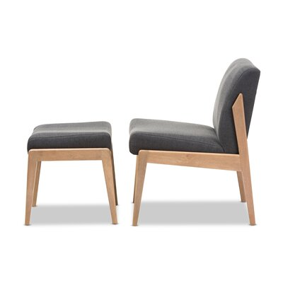 Wagga Wagga Slipper Chair and Ottoman