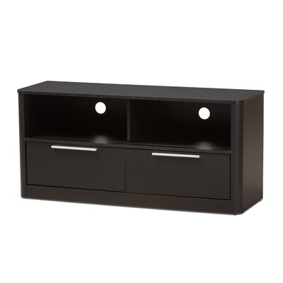 Polito Wood 2-Drawer 47 TV Stand Color: Espresso Brown