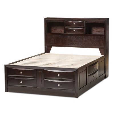 Petrick Storage Platform Bed Size: King