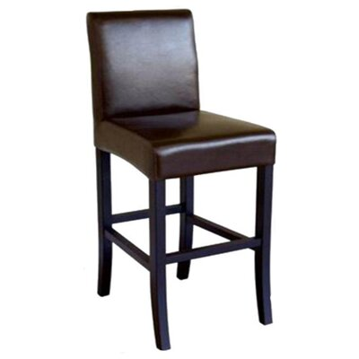 Aegeon Leather Barstool