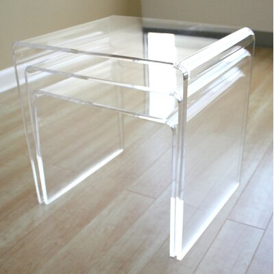 Bad credit financing Mercutio 3 Piece Nesting Tables Fin...