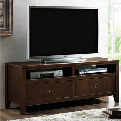 Cheap Wholesale Interiors Baxton Studio New Jersey Modern 56″ TV Stand in Brown (WHI1791)