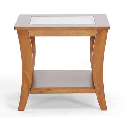 No credit financing Baxton Studio Allison End Table...