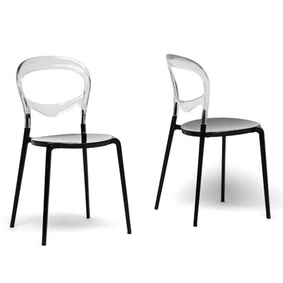 Low Price Wholesale Interiors Baxton Studio Orlie Side Chair (Set of 2)
