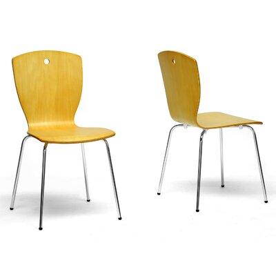 In store financing Baxton Studio Cantrelle Side Chair ...