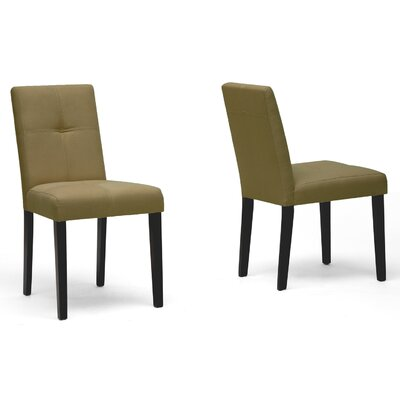 Rent Baxton Studio Elsa Parsons Chair (S...
