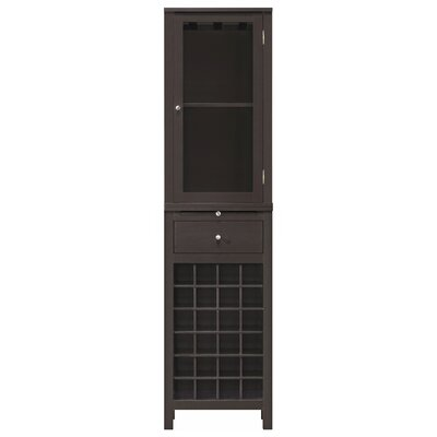 Baxton Studio 24 Bottle Wine Cabinet