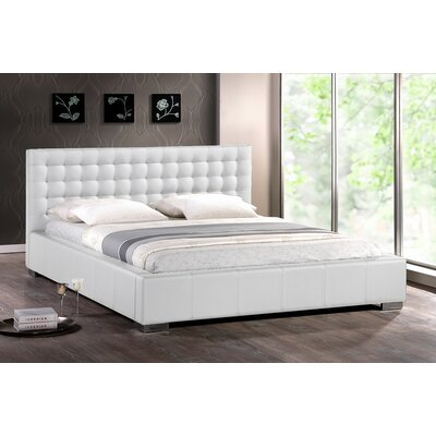 Easy financing Baxton Studio Madison Platform Bed ...