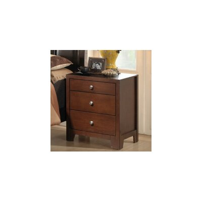 Easy furniture financing Baxton Studio Butler 3 Drawer Night...