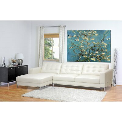 Wholesale Interiors 1365-sectional-LFC-DU8143 Baxton Studio Sectional Upholstery