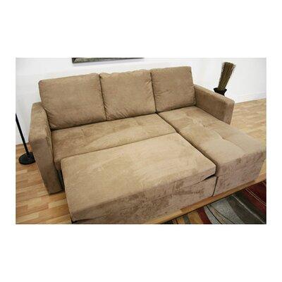 Wholesale Interiors 878445009595 Baxton Studio Amul Sleeper Sectional