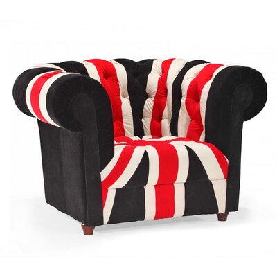 9930-UK FLAG-chair WHI4582 Wholesale Interiors Baxton Studio Union Modern Chesterfield Loveseat