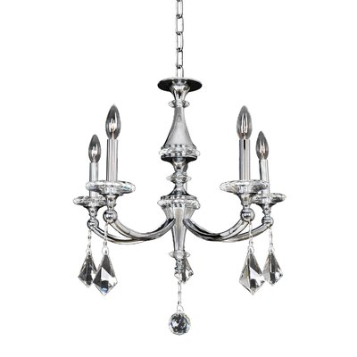 Floridia 5-Light Candle-Style Chandelier