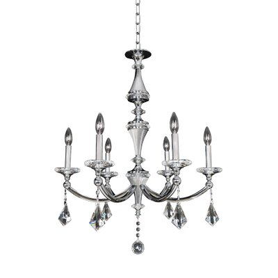 Floridia 6-Light Candle-Style Chandelier
