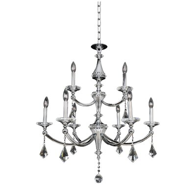 Floridia 9-Light Candle-Style Chandelier