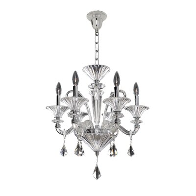 Chauvet 6-Light Candle-Style Chandelier
